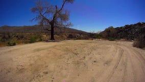 Jasper Trail Borrego Desert Ca POV 10 stock videobeelden