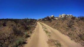 Jasper Trail Borrego Desert Ca POV 12 video estoque