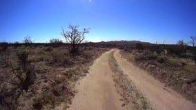 Jasper Trail Borrego Desert Ca POV 14 stock videobeelden