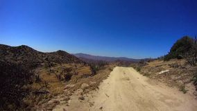 Jasper Trail Borrego Desert Ca POV 17 stock video
