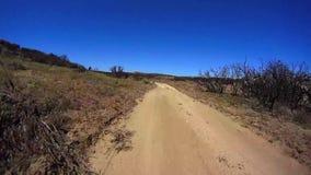 Jasper Trail Borrego Desert Ca POV 18 stock videobeelden