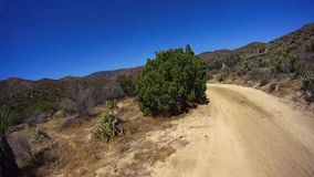 Jasper Trail Borrego Desert Ca POV 8 stock video footage