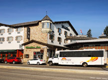 Jasper Whistlers Inn Canada Royaltyfri Bild