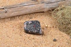 Jaspis na plaży Obraz Royalty Free