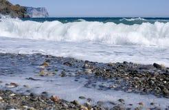 Jaspis plaża Zdjęcie Royalty Free