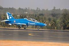Jastrząb przy Aero India 2017 zdjęcia stock