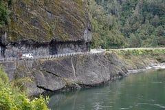 Jastrzębia Crag przy Buller wąwozem na Południowej wyspie Nowa Zelandia zdjęcie stock