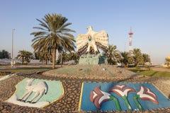 Jastrząbka zabytek w Madinat Zayed, UAE Obraz Royalty Free