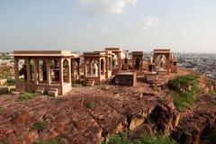 Jaswant Thada寺庙  库存照片