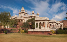 Jaswant Thada. Beautiful palace Stock Photography