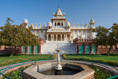 The Jaswant Thada is a cenotaph located in Jodhpur, in the India Stock Image