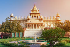 The Jaswant Thada is a cenotaph located in Jodhpur, in the India Royalty Free Stock Photography