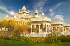 The Jaswant Thada is a cenotaph located in Jodhpur, in the India Royalty Free Stock Photo