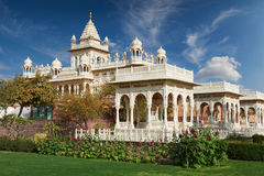 The Jaswant Thada is a cenotaph located in Jodhpur, in the India Royalty Free Stock Images