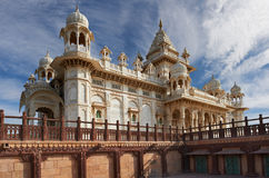 The Jaswant Thada is a cenotaph located in Jodhpur, in the India Stock Images