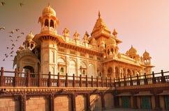 Jaswant Thada jest cenotaph lokalizować w Jodhpur, w India obraz royalty free