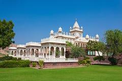Jaswant Thada Mausoleum Arkivfoto