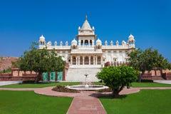 Jaswant Thada Mausoleum Fotografering för Bildbyråer