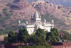 Jaswant Thada mausoleum in India Royalty Free Stock Photos
