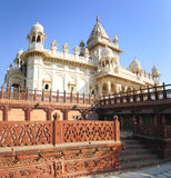 Jaswant Thada mausoleum in India Royalty Free Stock Images