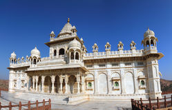 Jaswant Thada mausoleum in India - panorama Royalty Free Stock Image