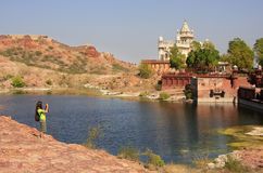 Jaswant Thada Mausoleum, Jodhpur, India Royalty Free Stock Photography