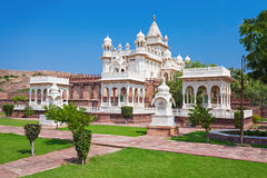 Jaswant Thada mausoleum Stock Images