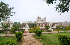 Jaswant Thada minnesmärke i Jodhpur Royaltyfri Fotografi