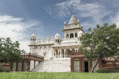 Jaswant Thada temple, Jodhpur - India. The Jaswant Thada is a cenotaph located in Jodhpur, in the Indian state of Rajasthan Royalty Free Stock Photos
