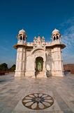 Jaswant Thada white temple Stock Images
