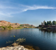 Jaswanth Thada mausoleum, Jodhpur, Rajasthan, India Royalty Free Stock Photos
