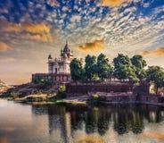 Jaswanth Thada mausoleum, Jodhpur, Rajasthan Royalty Free Stock Photography