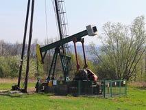 Jaszczew, Πολωνία - 8 Απριλίου 2018: Σταθμός αντλιών πετρελαίου Tansport και διανομή του πετρελαίου Τεχνολογία του συστήματος μετ στοκ φωτογραφίες