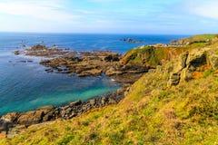 Jaszczurka Punkt, Cornwall UK, Obraz Royalty Free