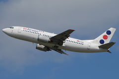 Jat Airways B737 Stock Photo