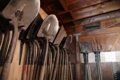 jat ogrodowe łopaty Fotografia Royalty Free