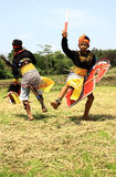 Jathilan-Tänzer Stockfoto