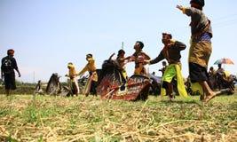 Jathilan-Tanz Stockfotografie