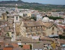 Jativa, Valência y Múrcia, Espanha Imagens de Stock