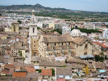 Jativa, Valencia y Murcia, Spanien Stockbild