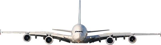 Jato da ilustração do vetor no vôo Imagens de Stock Royalty Free