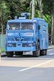Jato de água da polícia Foto de Stock