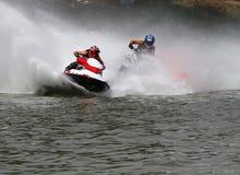 Jato de alta velocidade ski2 Foto de Stock Royalty Free