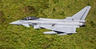 Jato de Eurofighter Typhoon foto de stock