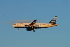 Jato de Jet Blue Airlines Imagem de Stock Royalty Free