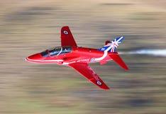 Jato de RAF Red Arrows Fotografia de Stock