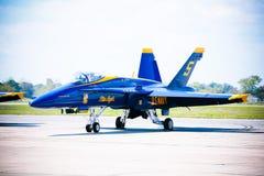 Jato do anjo azul de MARINHA Imagem de Stock Royalty Free