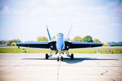 Jato do anjo azul de MARINHA Fotos de Stock Royalty Free