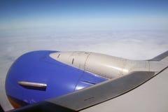 Jato do avião Imagem de Stock Royalty Free