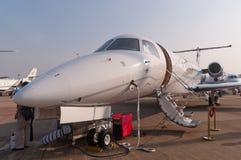 Jato do legado 650 de Embraer Fotografia de Stock